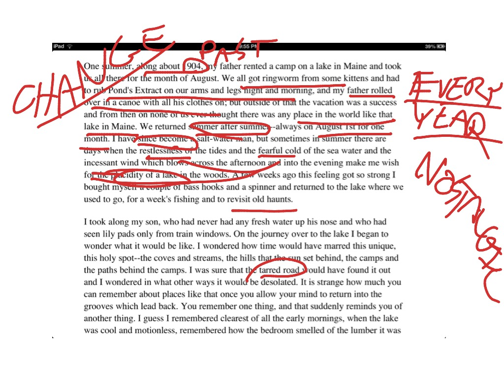 eb white once more to the lake essay best lake  eb white once more to the lake essay best 2017