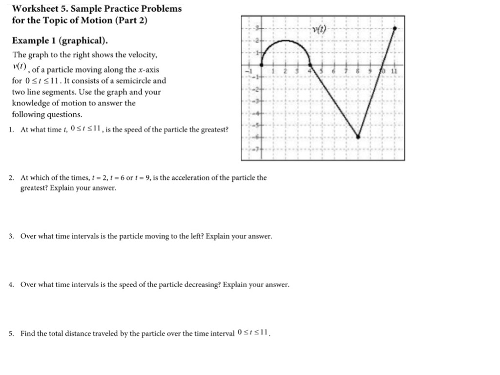AP CALC: Interpreting graphs 4 velocity & acceleration | Math ...