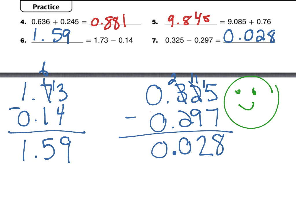 ShowMe - fraction name collection for study link 7.7 4th grade