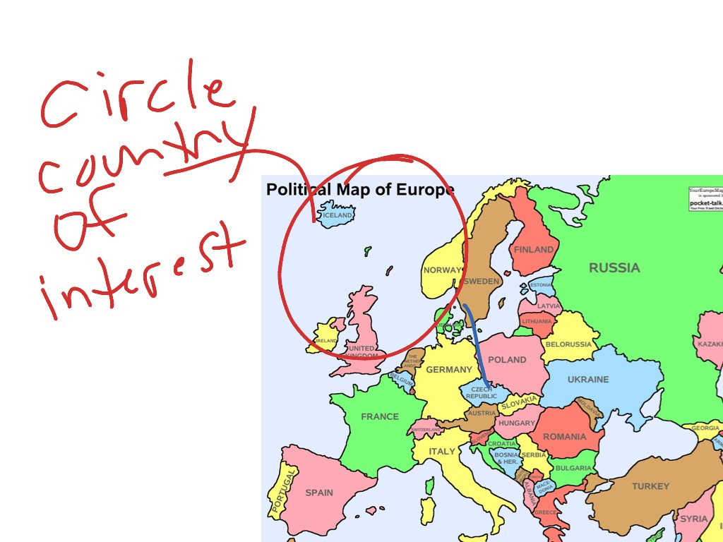 Show Me A Map Of Europe Thefreebiedepot