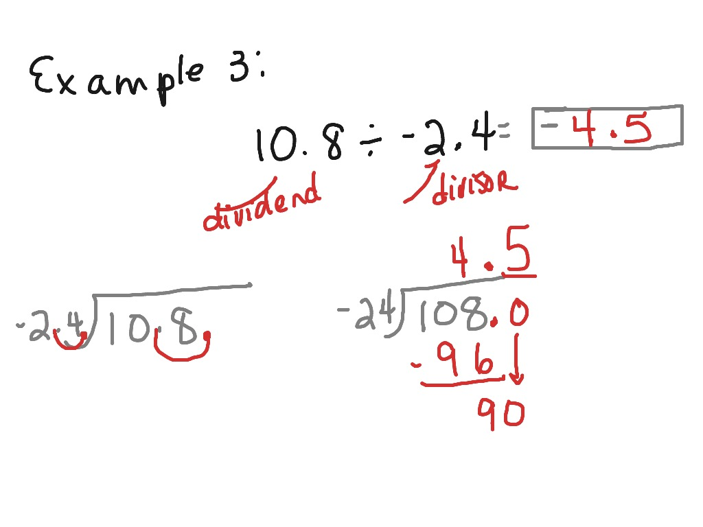 How To Divide A Decimal Into A Decimal on Easy Number Worksheets For Pre