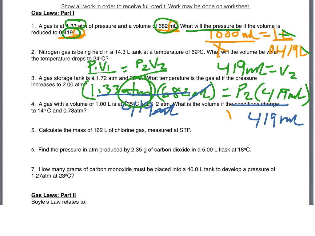 Showme gas laws part 1 worksheet most viewed thumbnail gas laws part i 1 robcynllc Image collections
