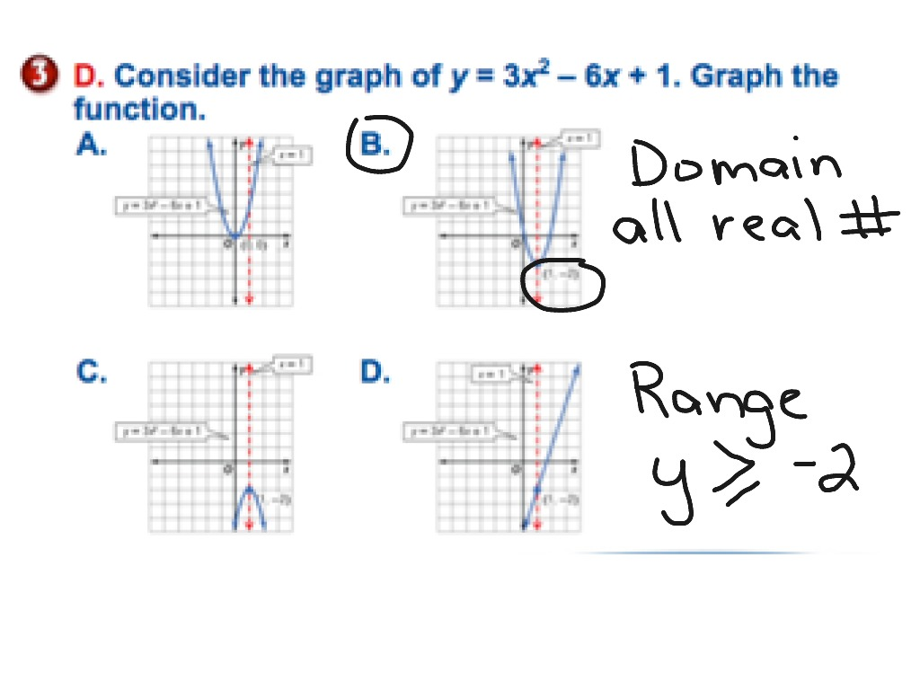 Worksheets Graphing Quadratic Functions Worksheets 9 1 graphing quadratic functions math algebra equations showme