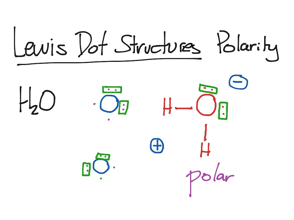 ShowMe lewis dot structures complex molecules