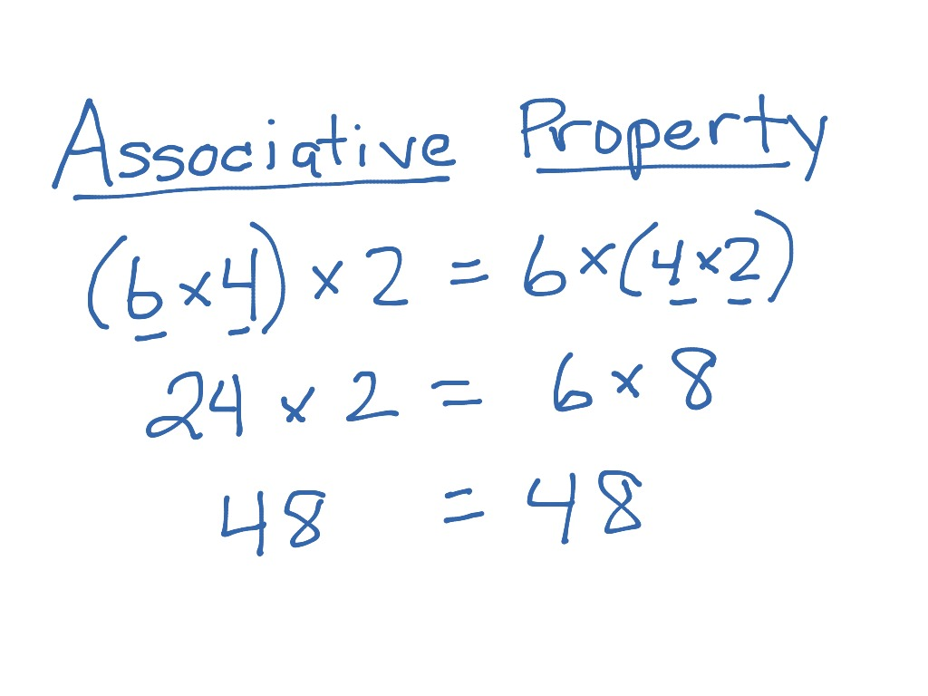 Worksheets Associative Property Of Multiplication Worksheets associative property of multiplication math elementary 4th grade showme