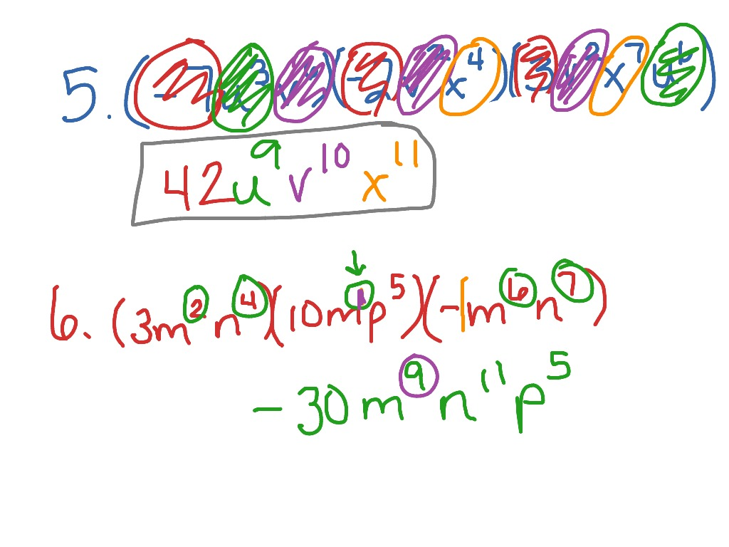 Showme simplifying fractions with variables and exponents robcynllc Image collections