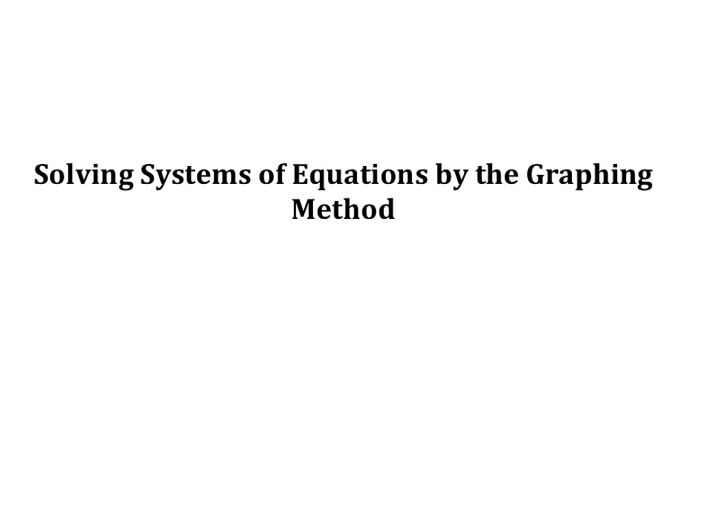 Showme algebra 1 unit 3 solving systems of equations by graphing most viewed thumbnail robcynllc Images
