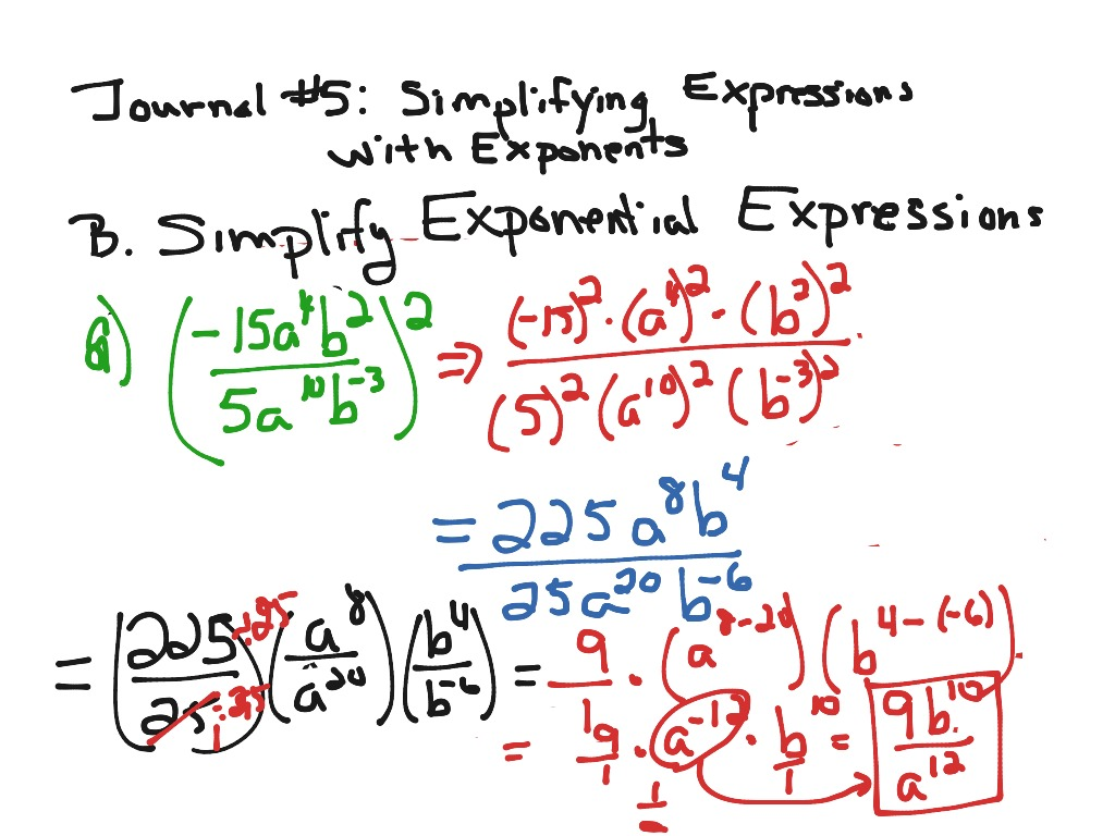 Showme simplifying expressions with exponents 6th grade most viewed thumbnail robcynllc Image collections