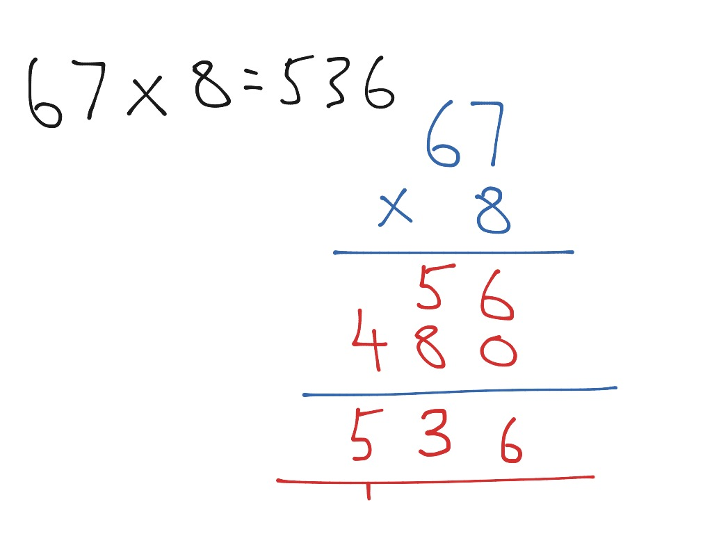 Image result for expanded method multiplication