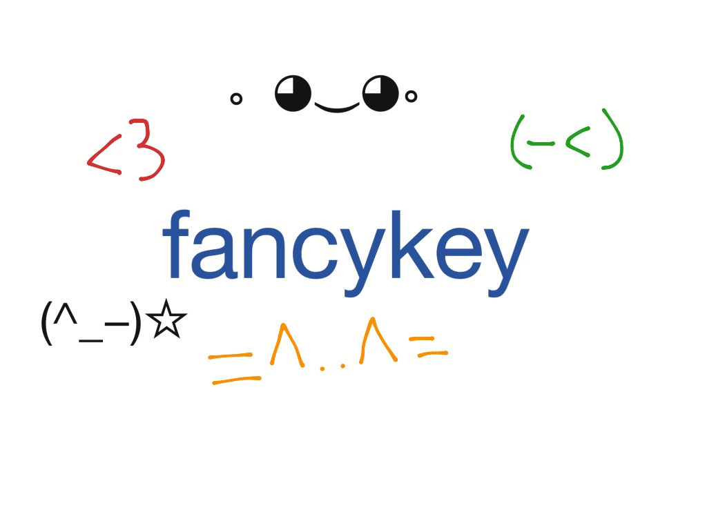 FancyKey | Keyboard Art | ShowMe