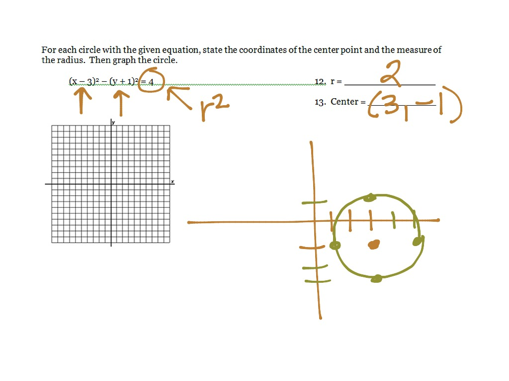 Geometry Chapter 10, 10.5-10.8 review | Math | ShowMe