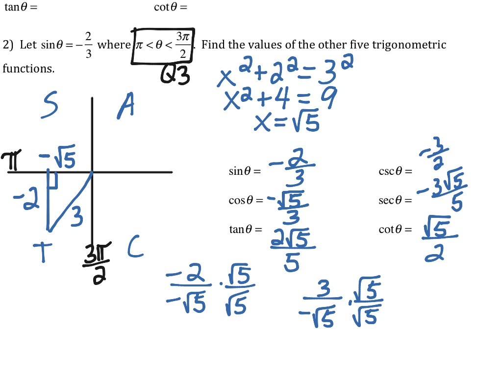 trigonometry word problems with solutions pdf