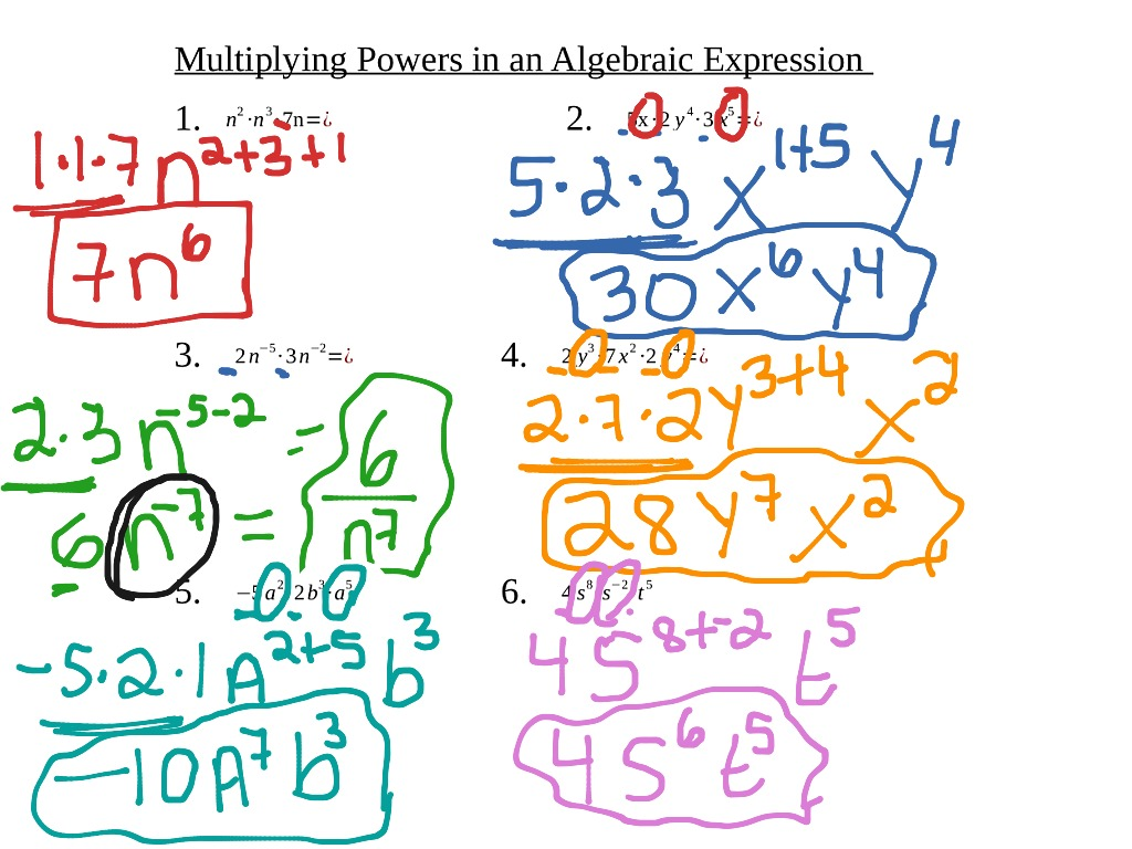 worksheet Exponents And Multiplication showme multiplying with exponents box method most viewed thumbnail