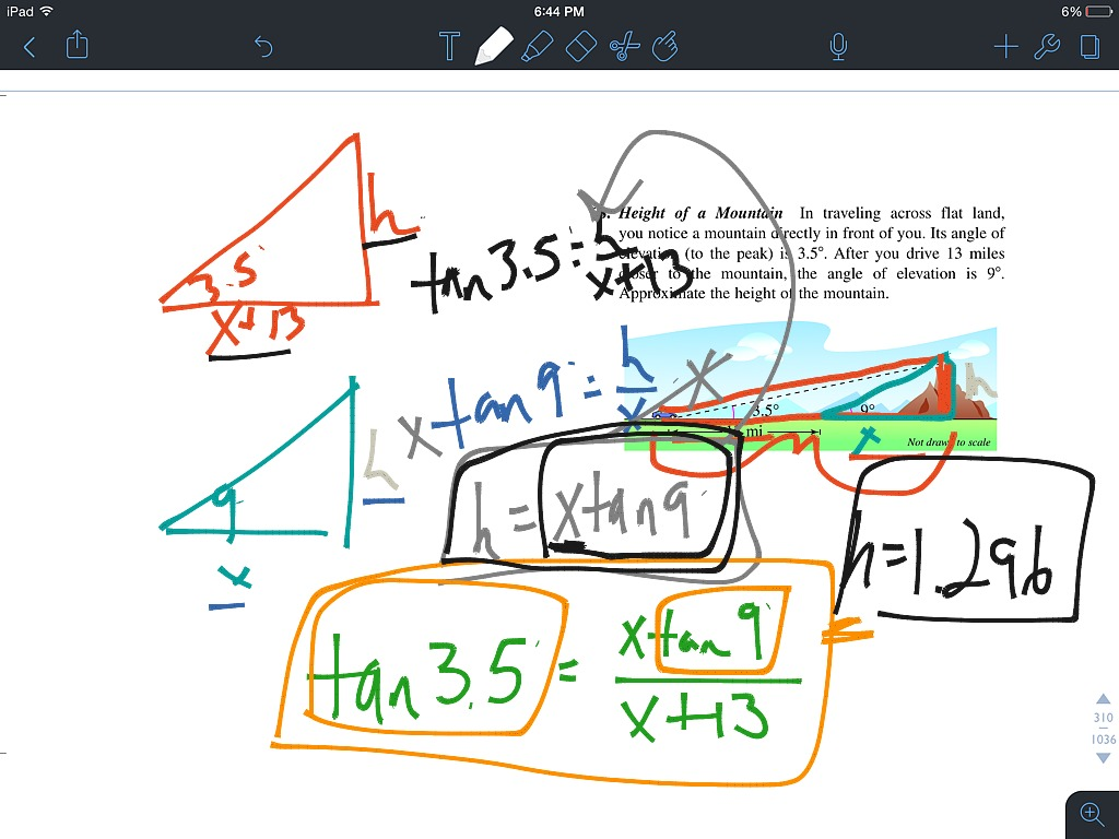 4 3- Applications of Right Triangle Trigonometry- Word