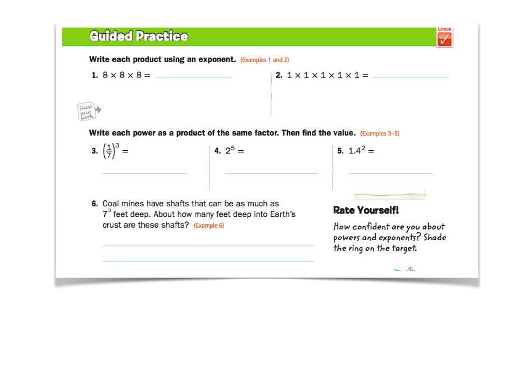 Practice And Homework Lesson 6 1 Answers 5th Grade