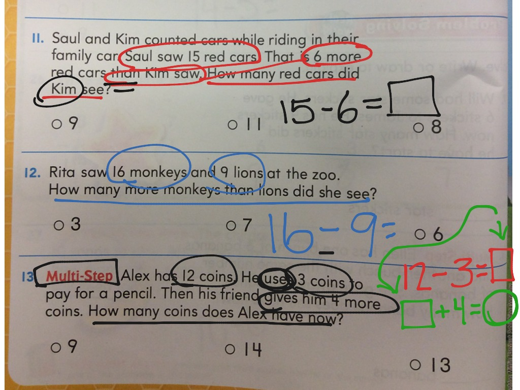 ShowMe - go math lesson 7 10 practice book page 163