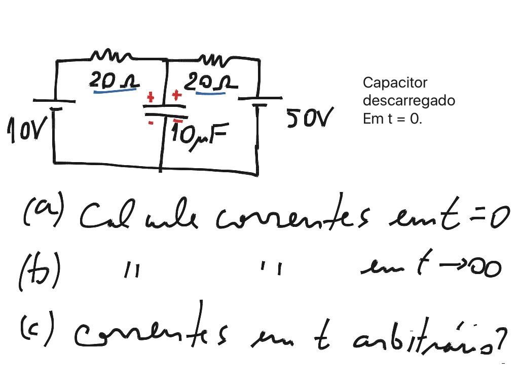 Circuito Rc : Ohms law in a complex circuit circuits showme