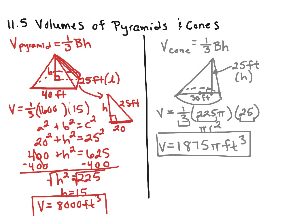 worksheet Volume Of Cylinders And Cones Worksheet showme geometry practice 11 5 volumes of pyramids and cones most viewed thumbnail