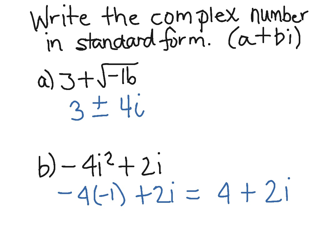 standard form with integer coefficients  ShowMe - write an equation in standard form with integer ...