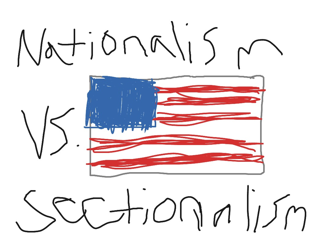 nationalism vs sectionalism history showme