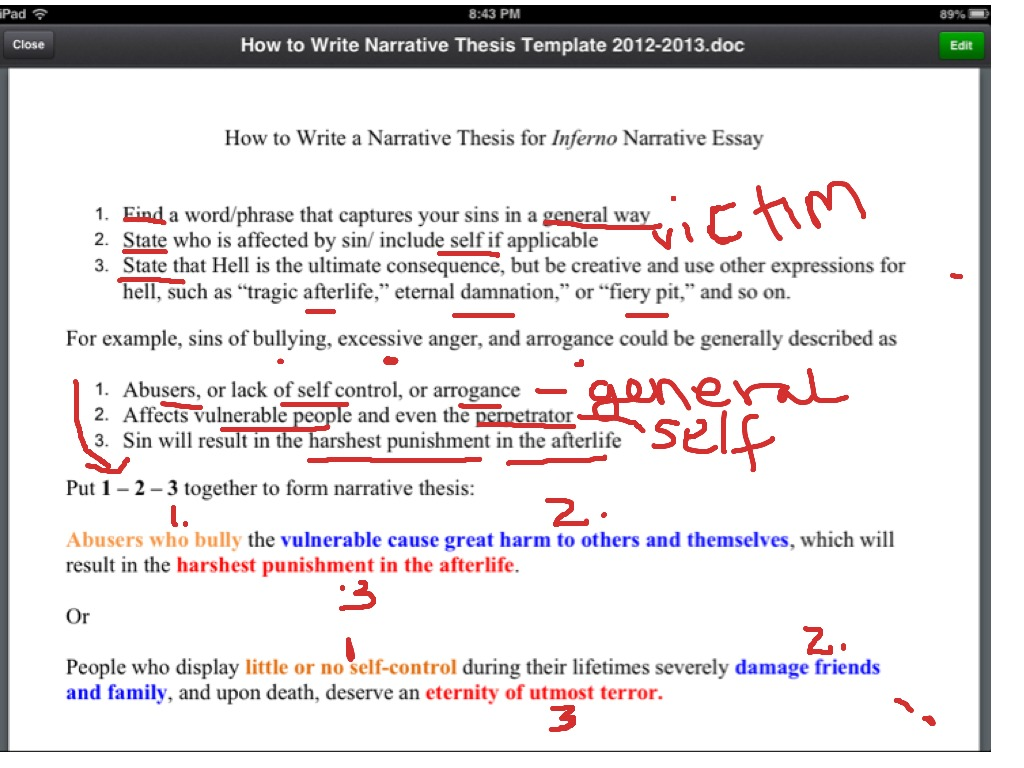 writing a thesis statement most viewed thumbnail
