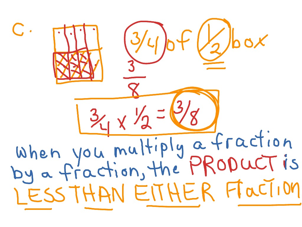 compare fractions factors and products lesson 7.5 answer key