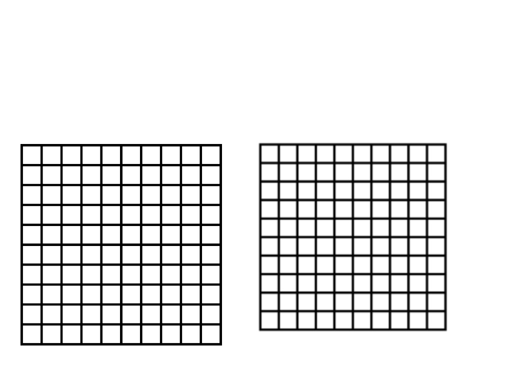 image relating to Hundredths Grid Printable named How towards divide # \u003c 1 making use of a hundredths grid Math ShowMe