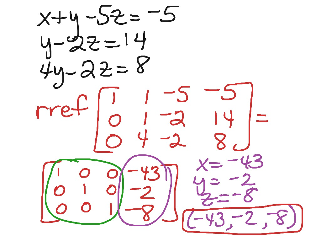 solving systems of equations Systems of two equations in x and y can be solved by adding the equations to create a new equation with one variable eliminated this new equation can then.