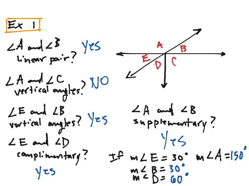 Angle Pair Relationships Worksheet Promotiontablecovers