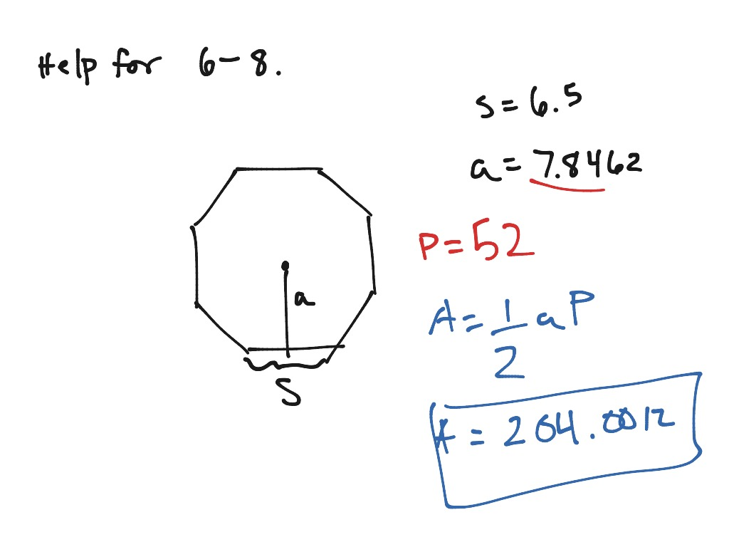 Help for review 11.1-11.2 part 2   Math, geometry   ShowMe
