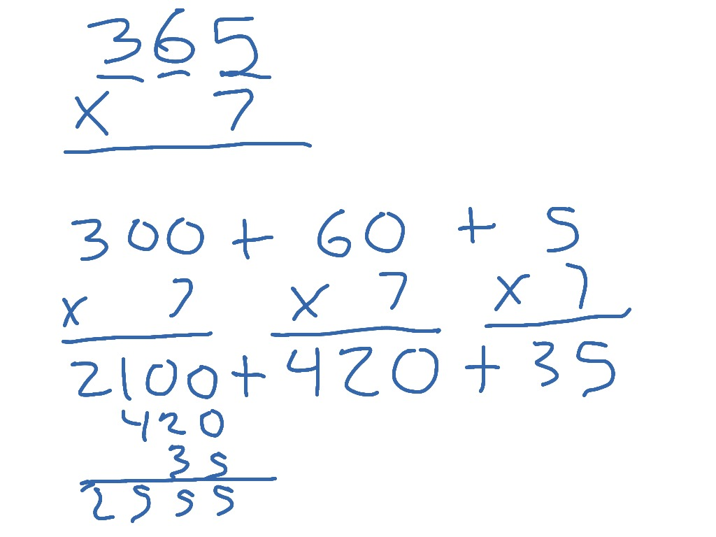 104 multiplying using expanded form showme falaconquin
