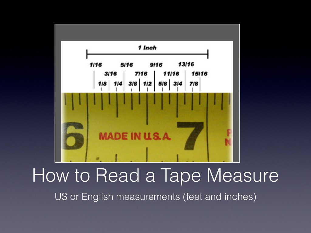 worksheet Read A Tape Measure how to read a tape measure math agriculture showme