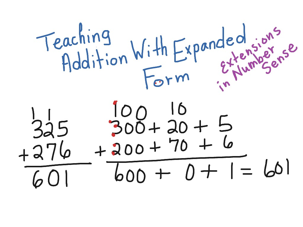 Teaching addition with expanded form math addition 2nd grade teaching addition with expanded form math addition 2nd grade math 3 digit addition 2nbt5 showme falaconquin