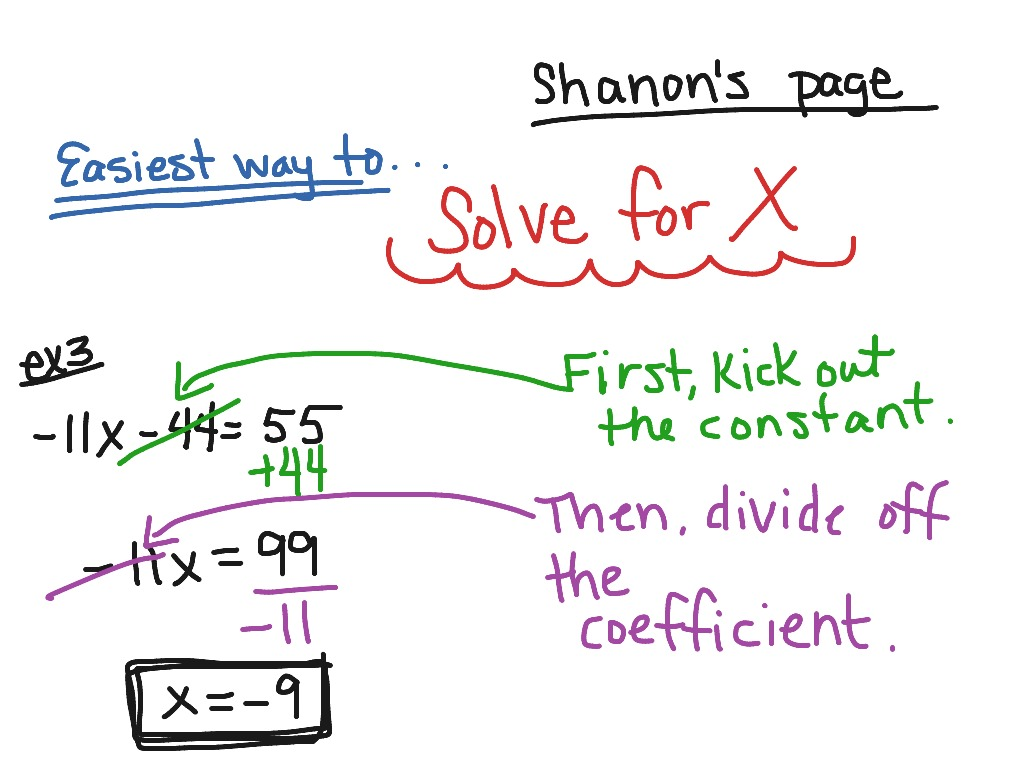Showme Solving Two Step Equations With Fractions