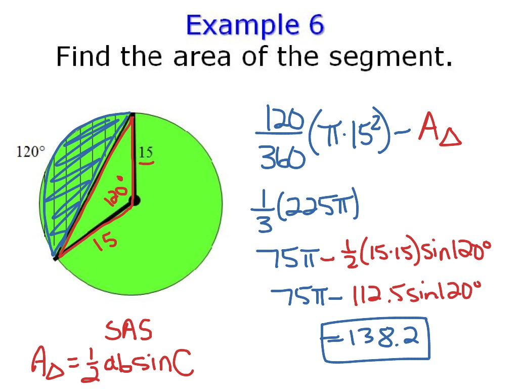 worksheet Area Of A Sector Worksheet showme problem solving 11 3 sector area and arc length most viewed thumbnail