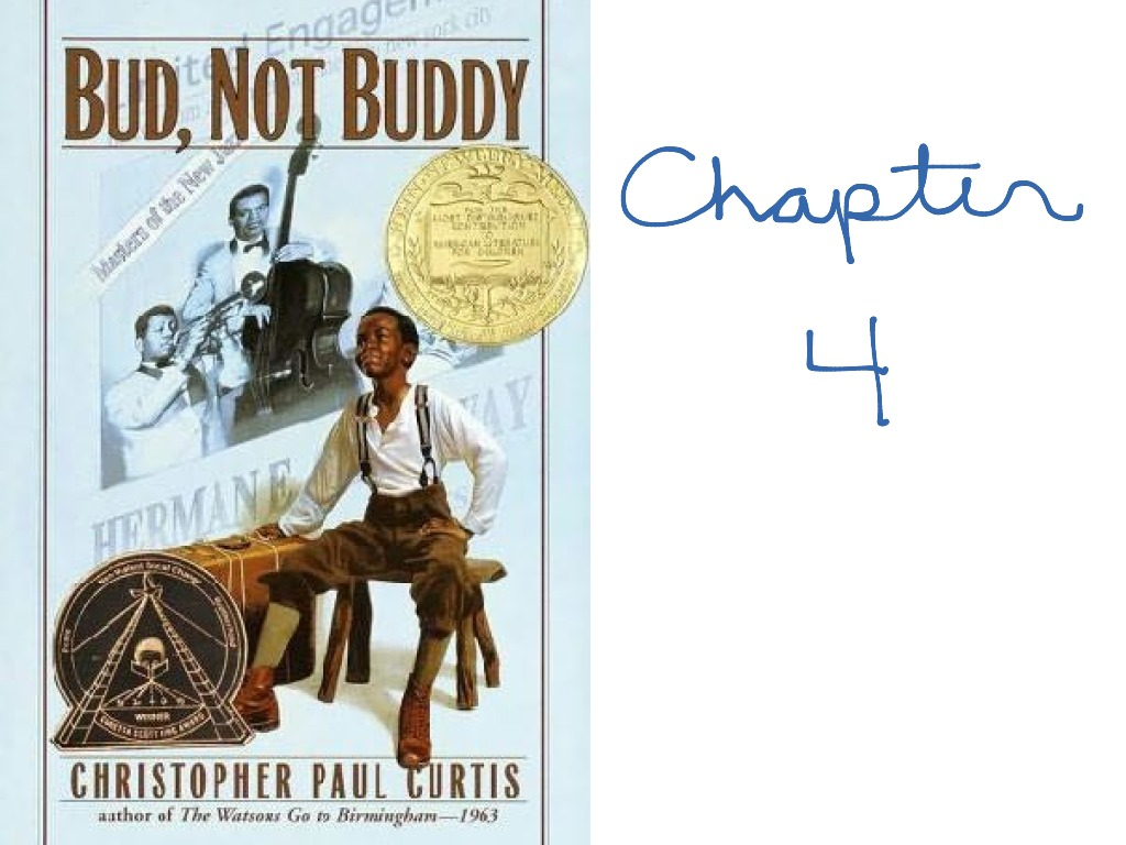 bud not buddy chapter 4 english reading showme