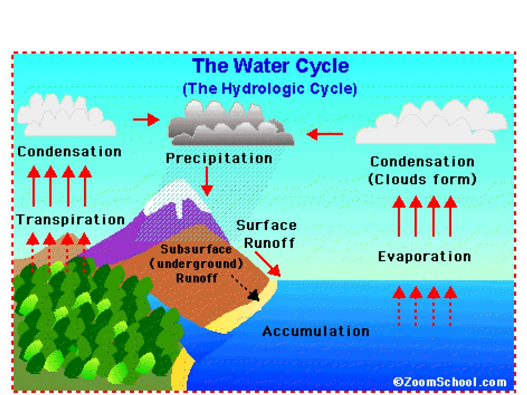 Water cycle science earth science geology showme ccuart Gallery