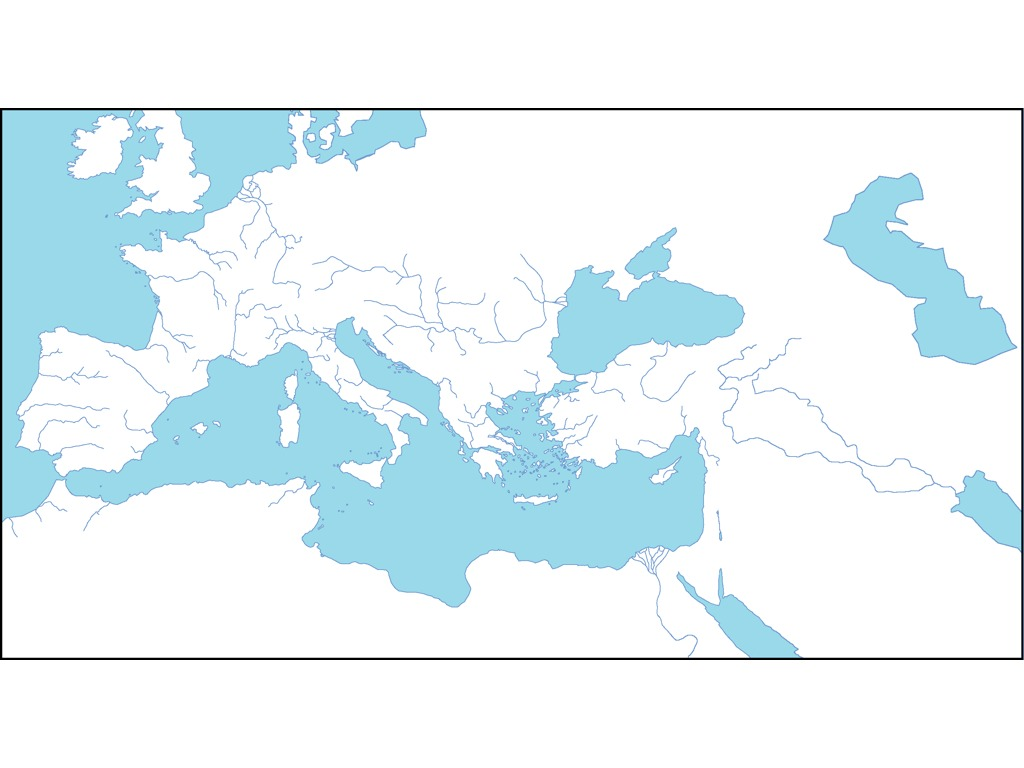 Map Of Roman Empire History Social Studies World History