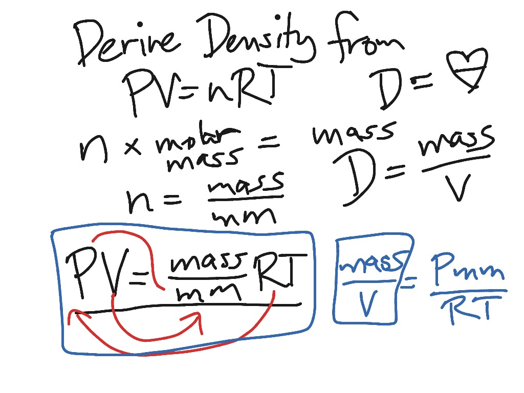 density equation chemistry. density equation chemistry p