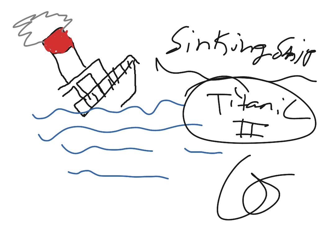 how to draw a sinking ship art drawing showme