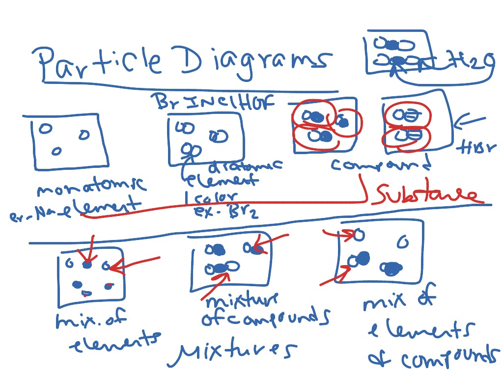 Particle Diagram Review