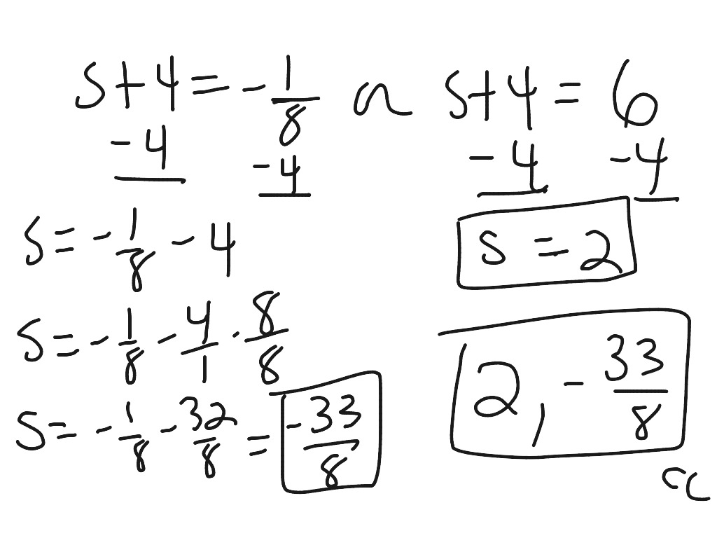 1 4 Equations quadratic in form (squinters) and U substitution