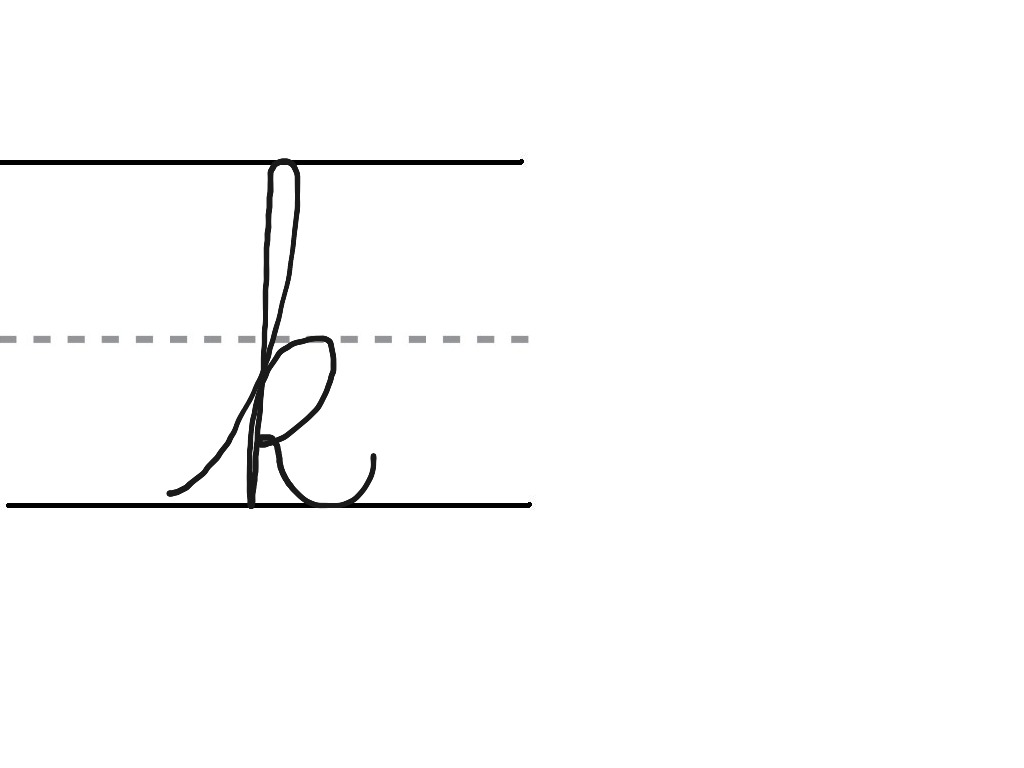 Printable A-Z Cursive Letters | Letters and Numbers Org