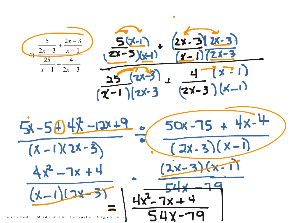 most-viewed-thumbnail. 4.05 Simplify Complex Fractions