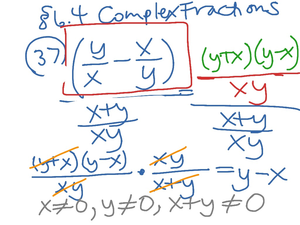 worksheet Complex Fractions Worksheet showme simplify complex fraction most viewed thumbnail