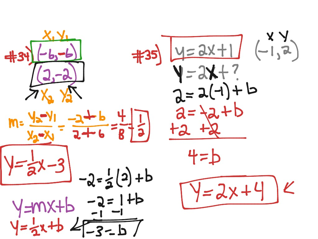 Chapter 3.1-3.5 Test Review   Math, geometry, lines   ShowMe
