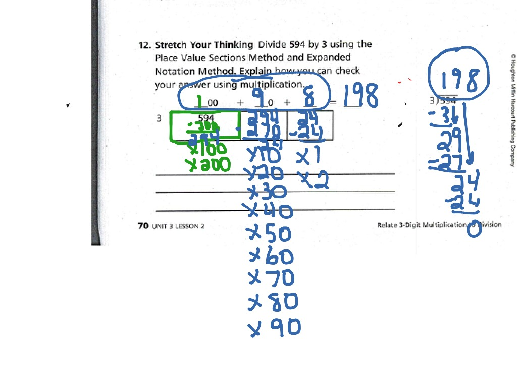 Place Value Sections Method Multiplication - Best Place 2017