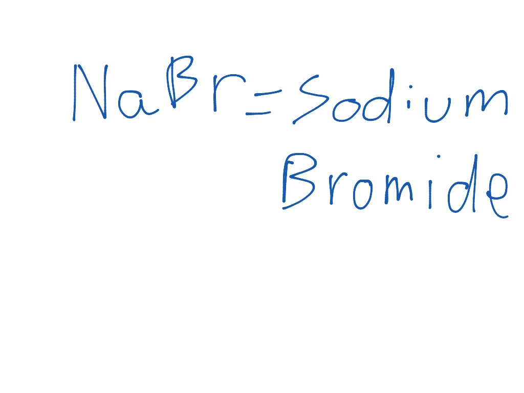 sodium bromide science, chemistry showme Electron Dot Diagram Periodic Table