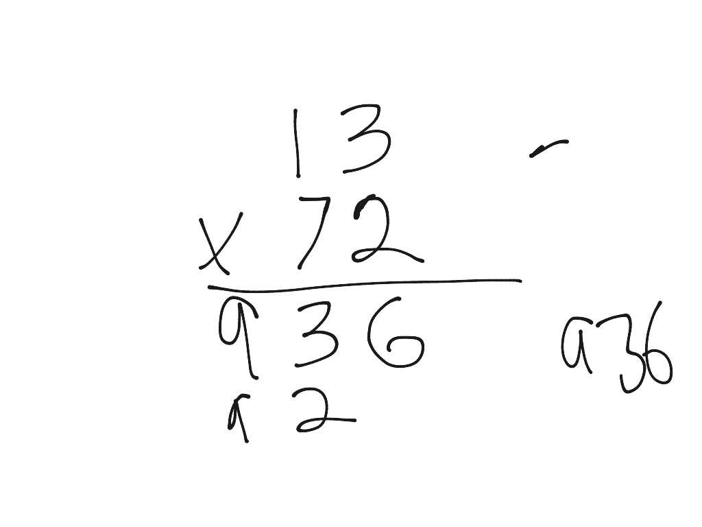 Jacob and Todd's Short Multiplication | Math, Arithmetic ...
