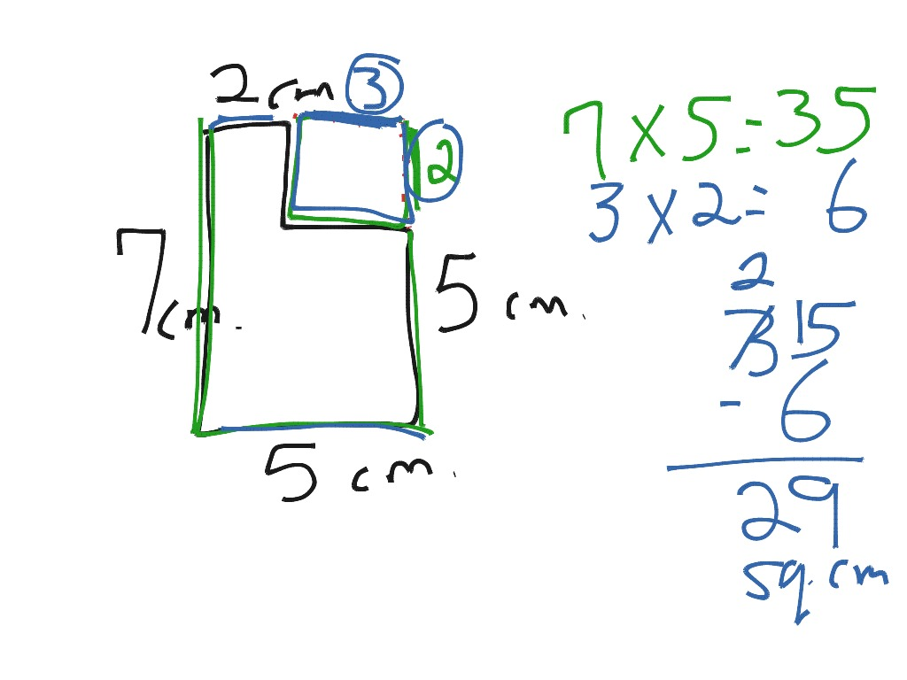 ShowMe area of irregular shapes 4th grade – Area and Perimeter of Irregular Shapes Worksheet